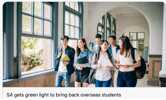 【澳洲·新闻】终于官宣,留学生返澳计划获澳政府批准!