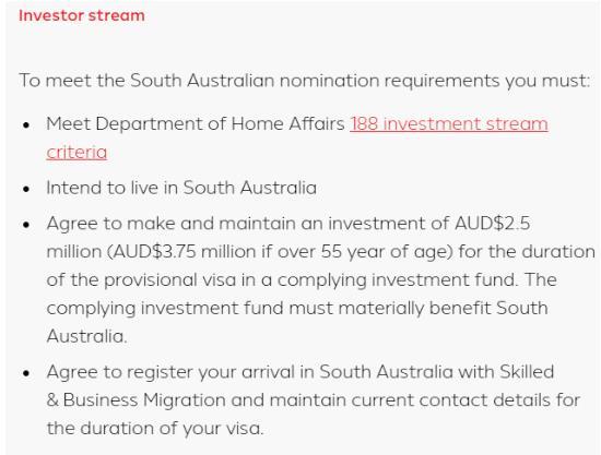 【2021-22财年各州州担保政策】SA南澳大利亚州担保新政更新,详解商业移民类申请要求!